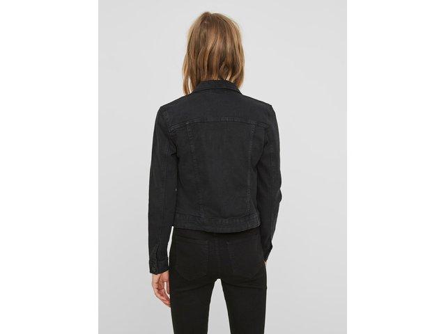 Černá krátká džínová bunda Noisy May Debra
