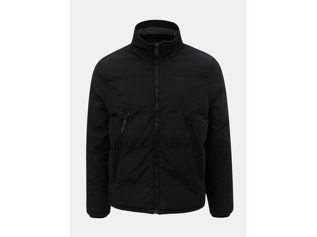 Černá zimní bunda Burton Menswear London