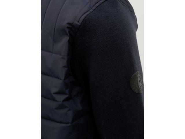 Tmavě modrá bunda Burton Menswear London