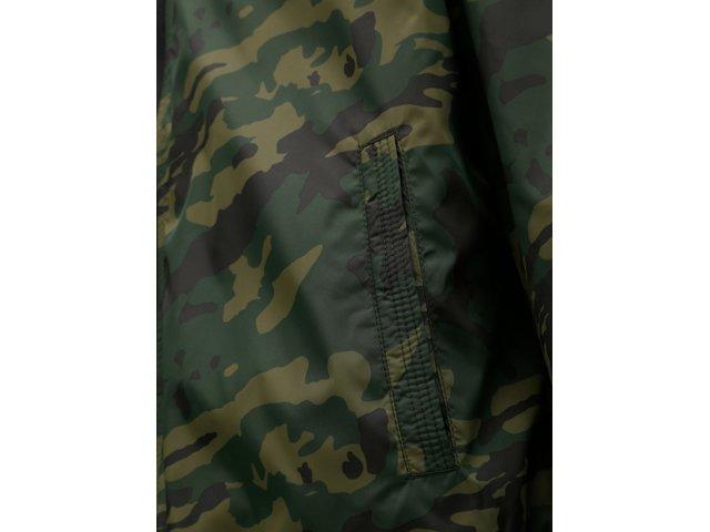 Zelená lehká maskáčová bunda ONLY & SONS Anthoney
