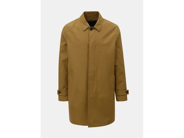 Hnědý kabát Burton Menswear London