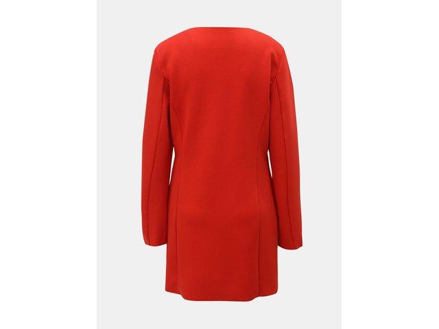 Červený lehký kabát ONLY Melissa