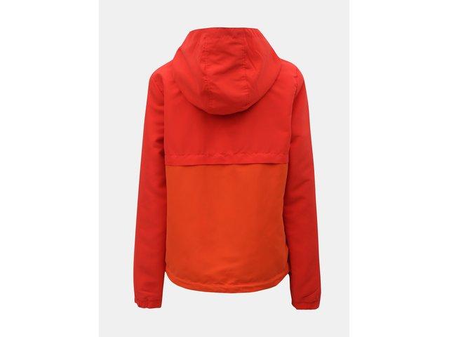 Červená oboustranná lehká bunda ONLY New Jazz
