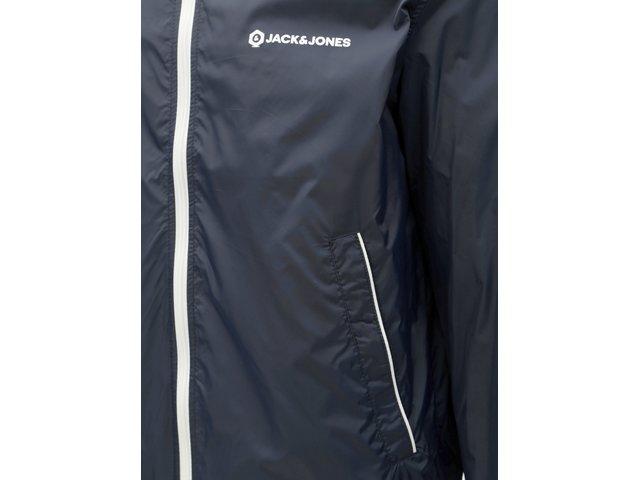 Tmavě modrá lehká bunda Jack & Jones Pete
