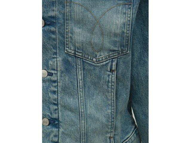 Modrá pánská džínová bunda Calvin Klein Jeans