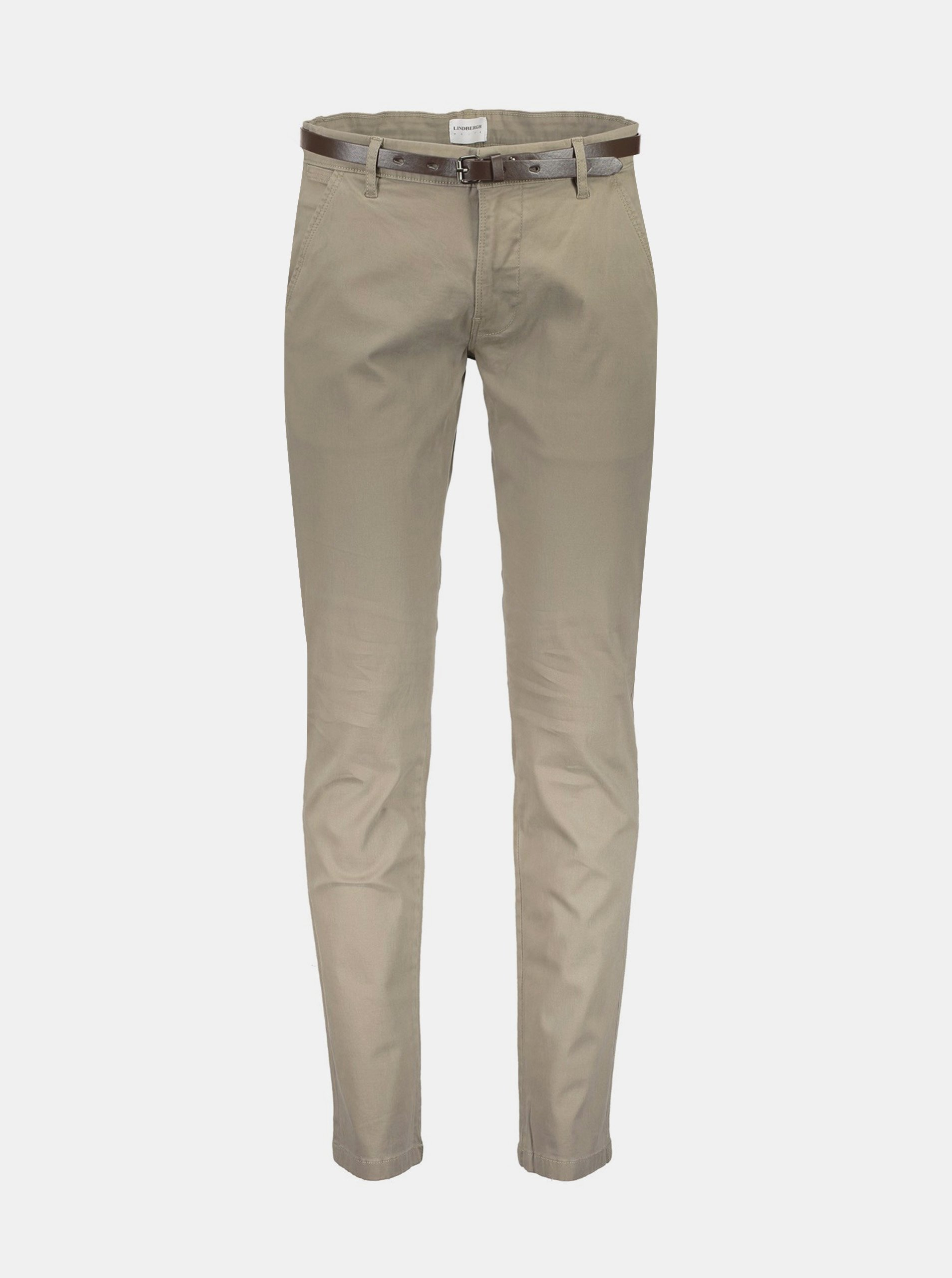 Béžové chino nohavice Lindbergh.