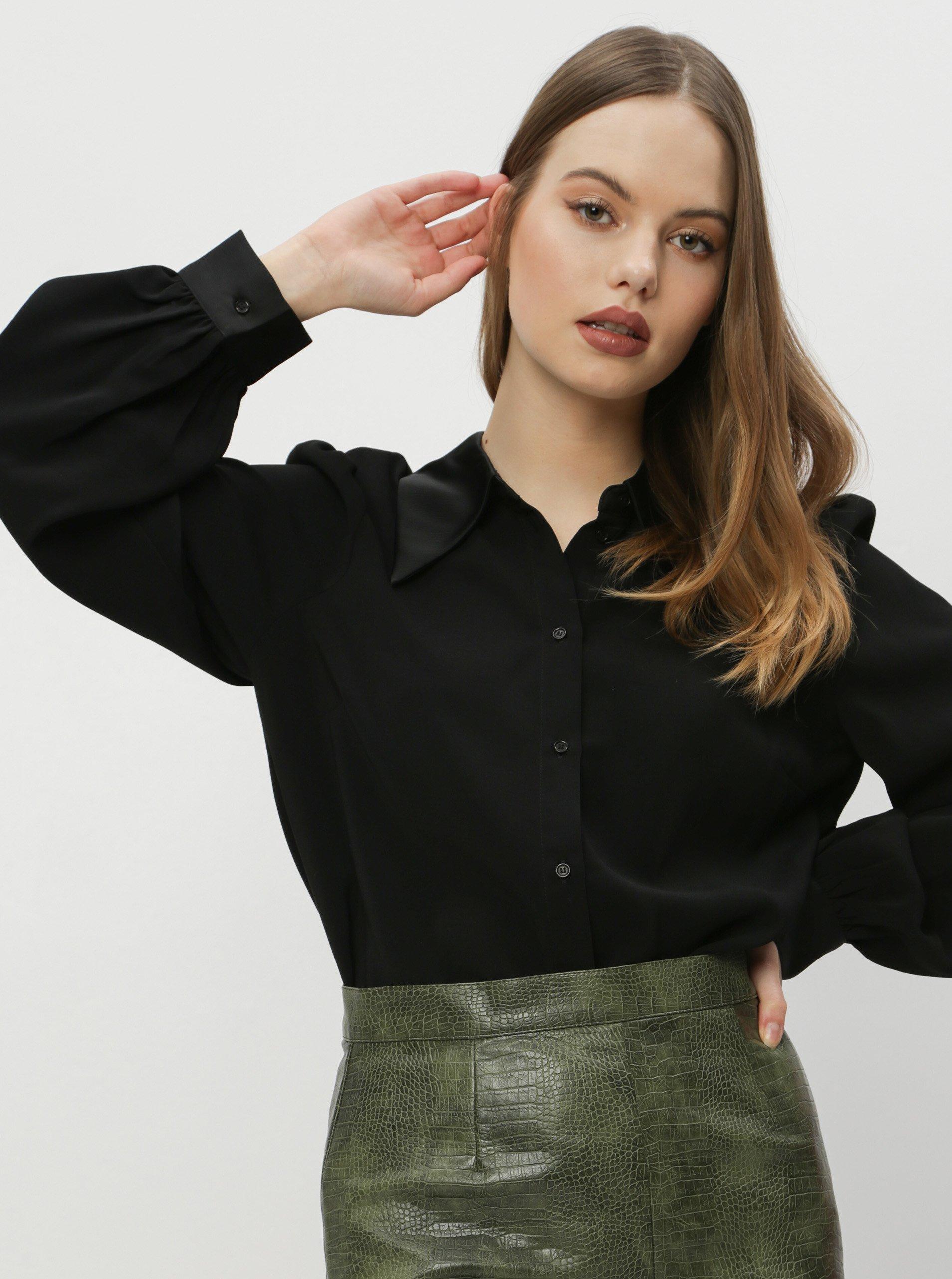 E-shop Černá košile VERO MODA Coco