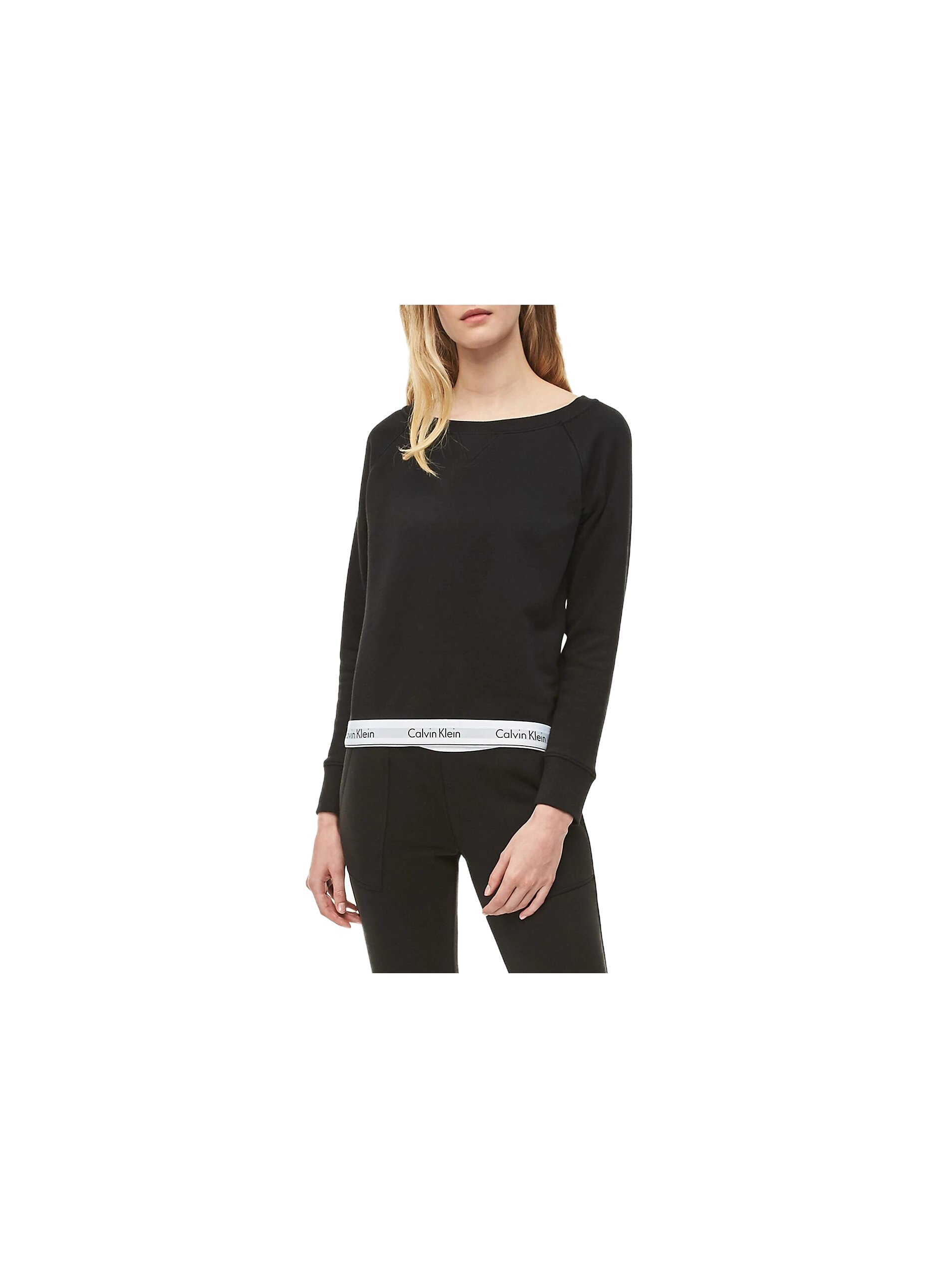 E-shop Calvin Klein černá dámská mikina Top Sweatshirt Basic