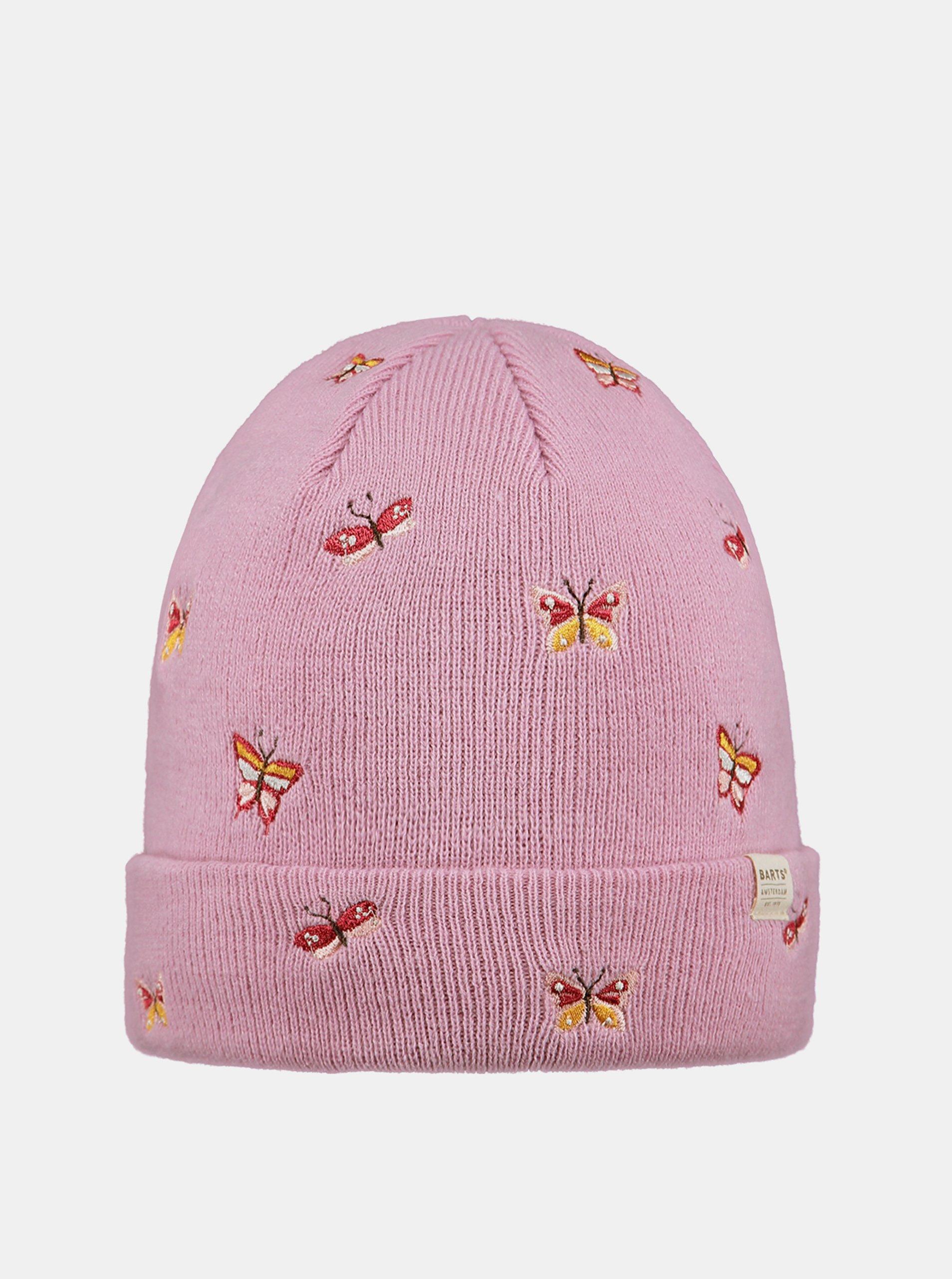 E-shop Růžová holčičí čepice Barts