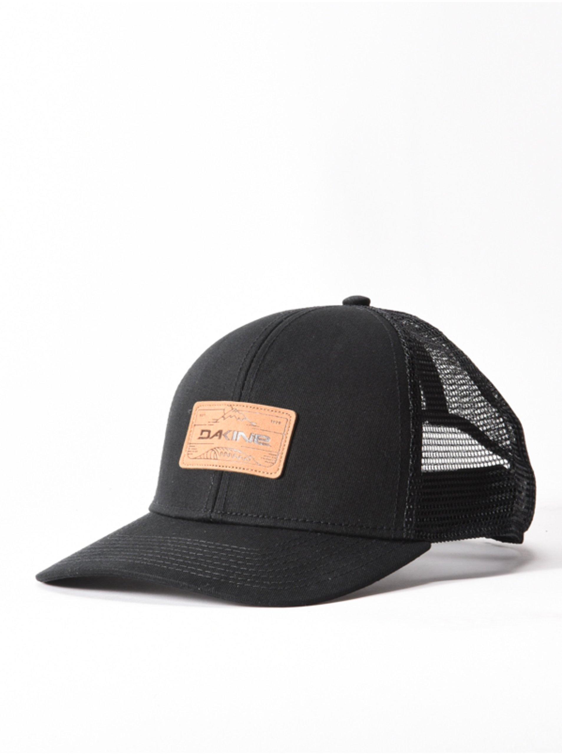 Dakine PEAK TO PEAK black baseballová kšiltovka - černá
