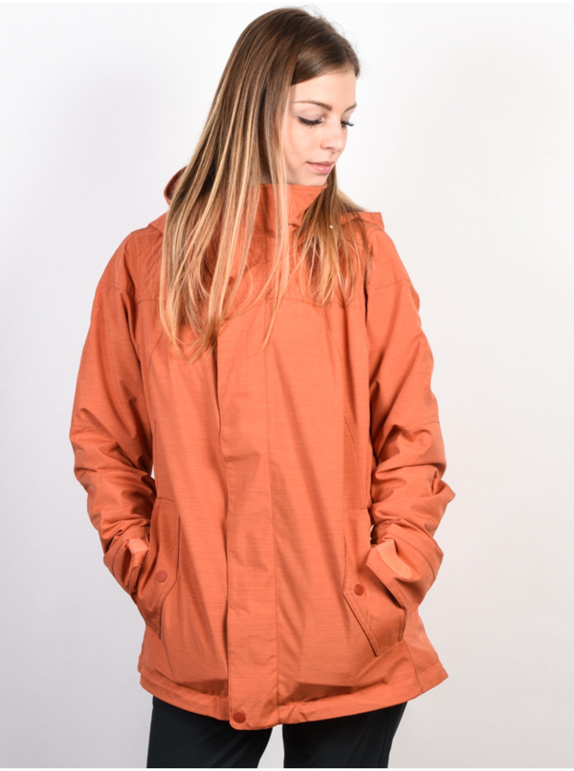 E-shop Burton WB JET SET PERSIMMON zimní dámská bunda - červená