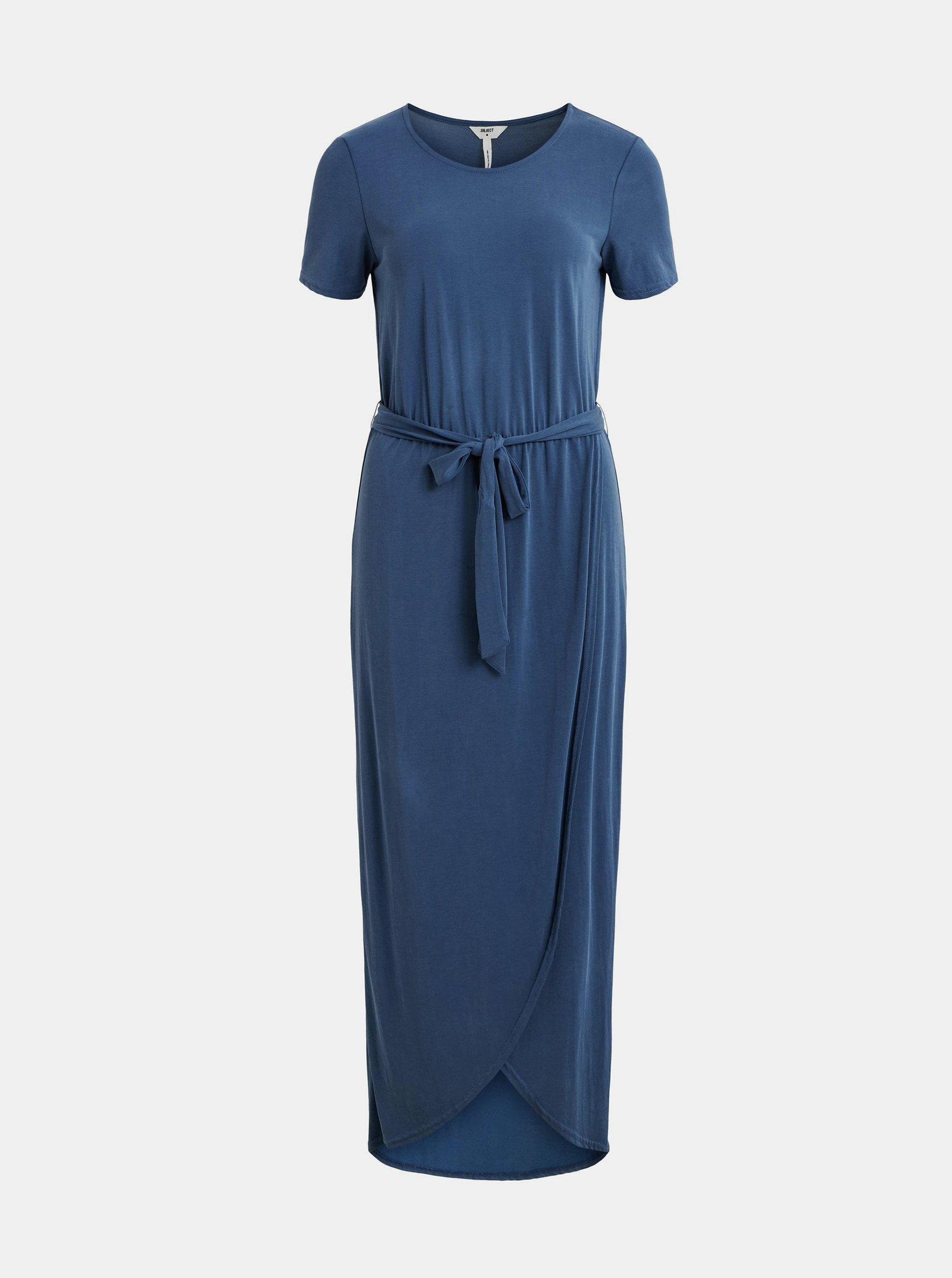 Letné a plážové šaty pre ženy .OBJECT - modrá.