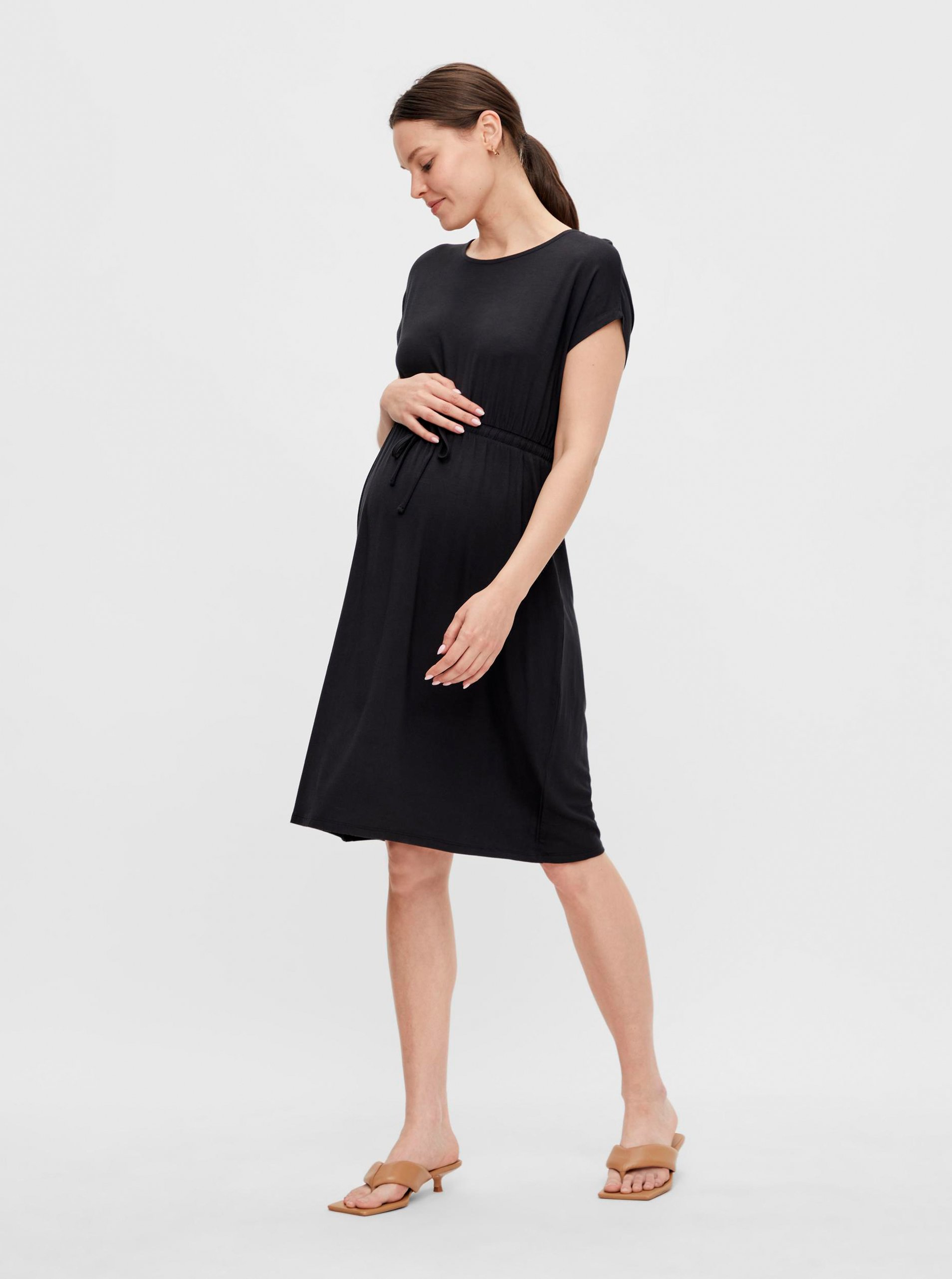 E-shop Černé těhotenské šaty Mama.licious Alison