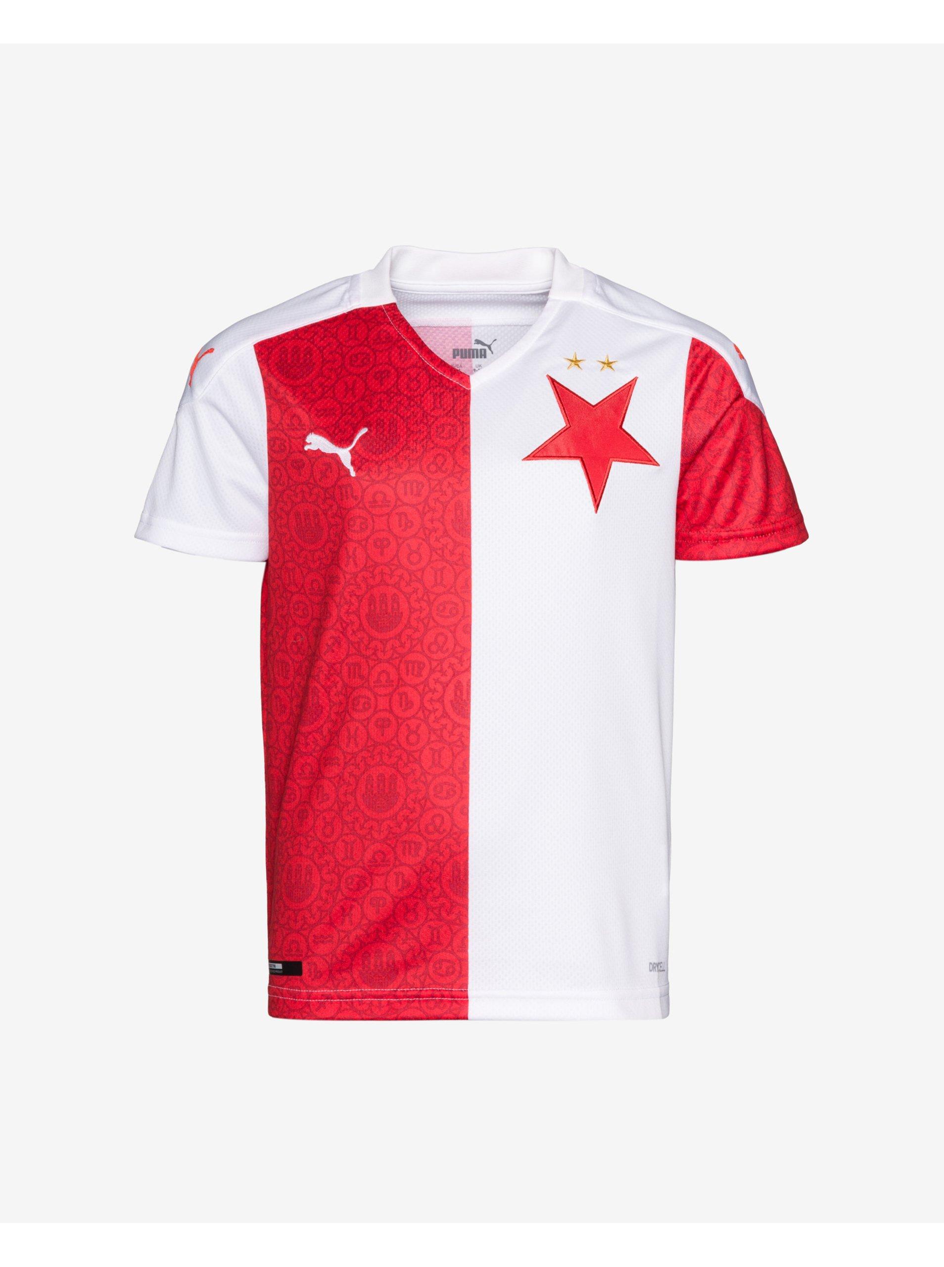 SK Slavia Home Replica Jr Triko dětské Puma