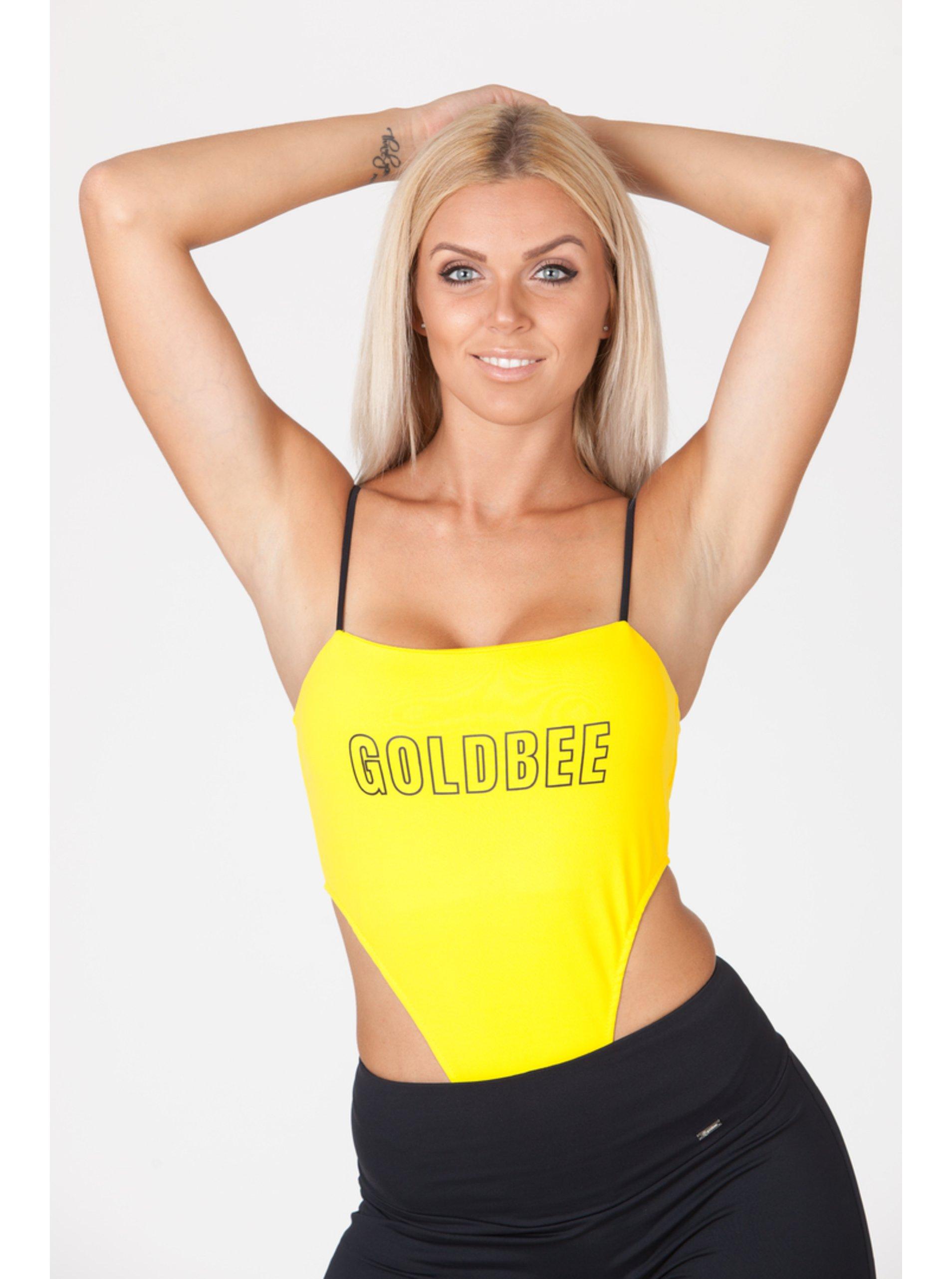 Body GoldBee New York Logo Yellow