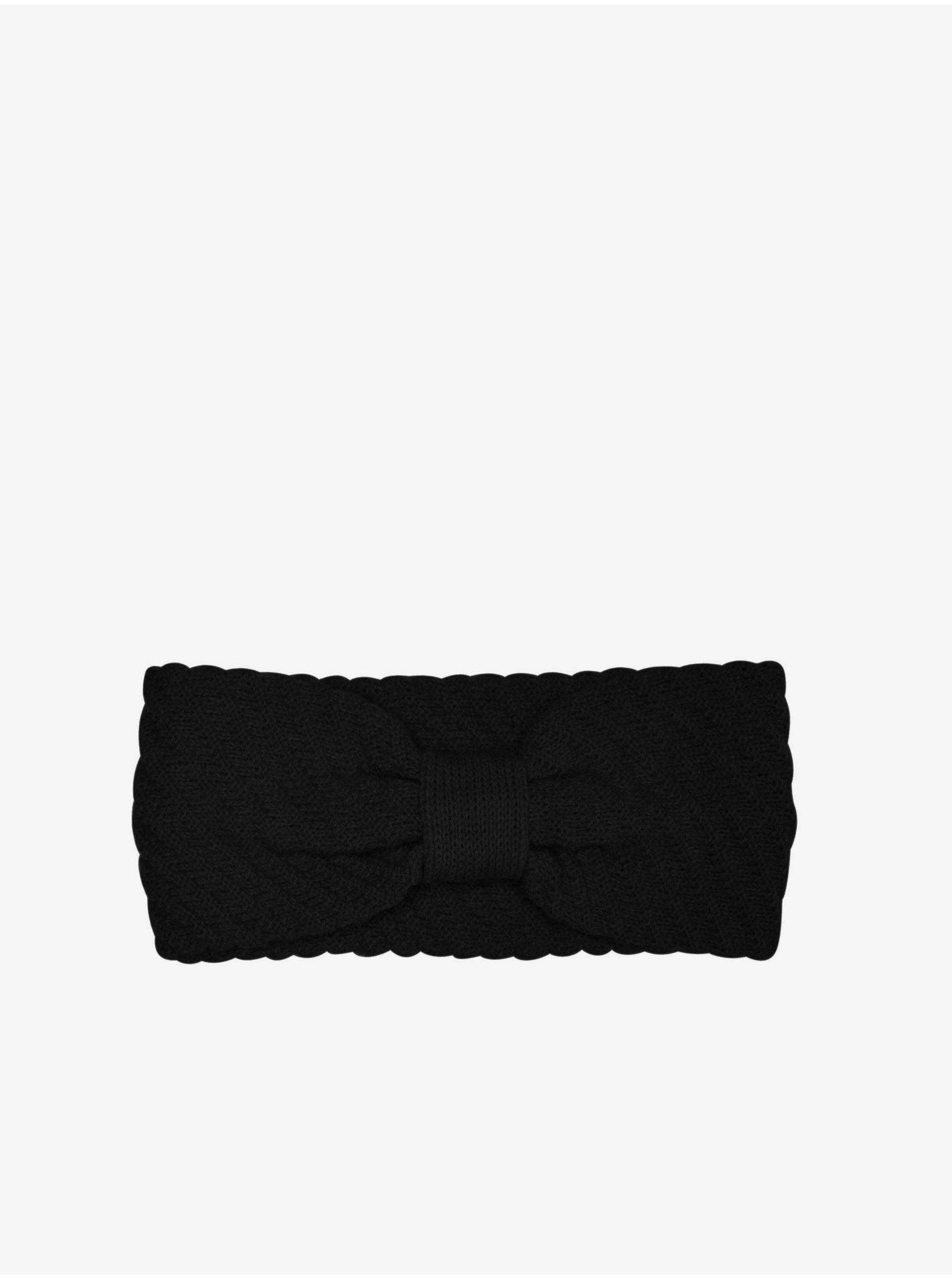 Černá čelenka ONLY Ida