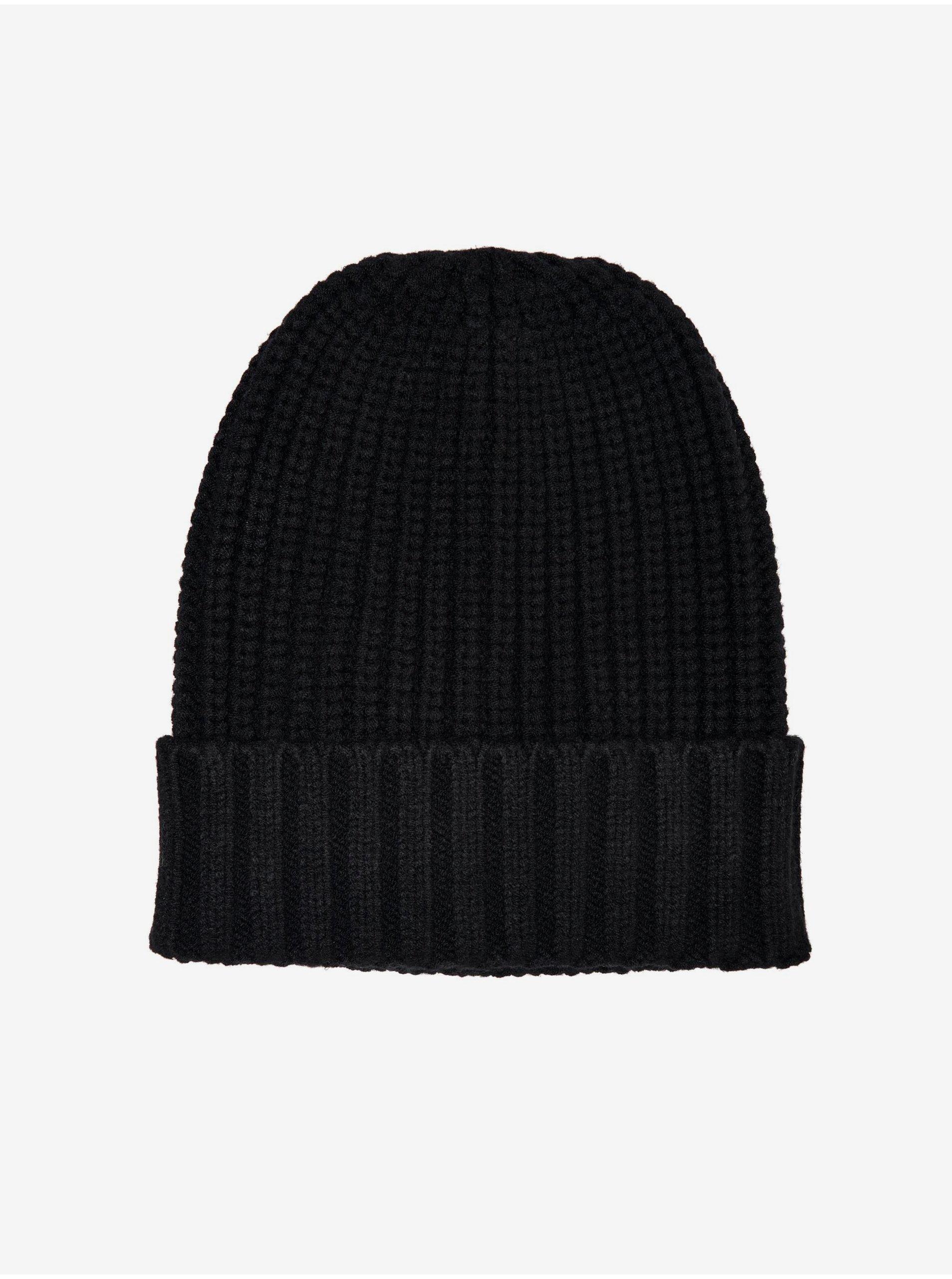 Černá čepice ONLY Dina