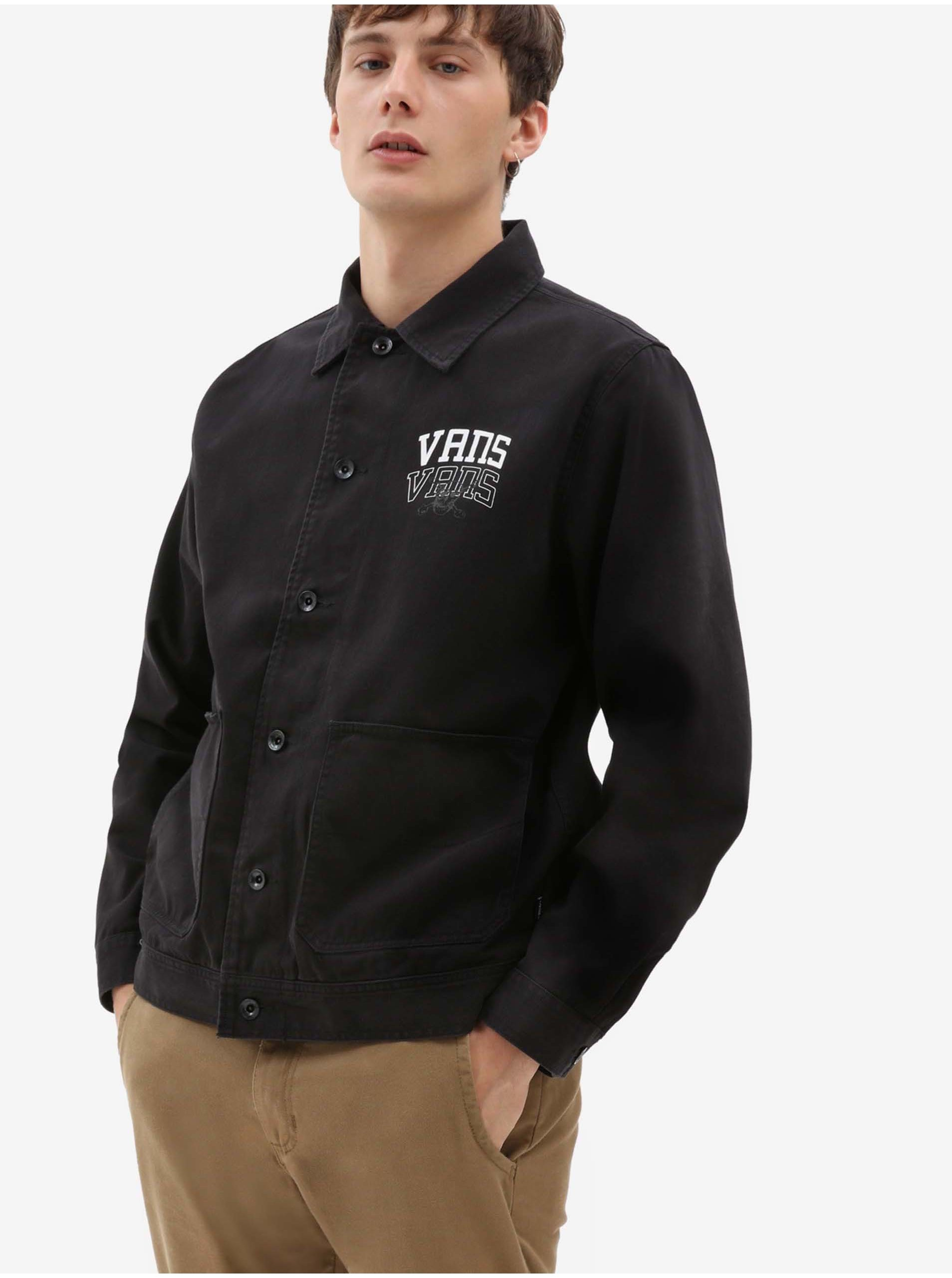 Bunda Mn New Varsity Drill Black Vans