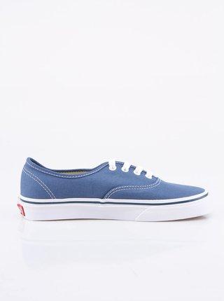 Modré dámské nízké tenisky Vans Authentic