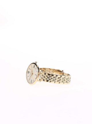 Dámske hodinky v zlatej farbe s nerezovým remienkom Fossil Jacqueline