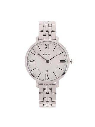Dámske hodinky v striebornej farbe s nerezovým remienkom Fossil Jacqueline