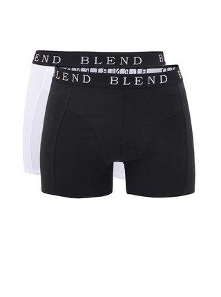 Set bílých a černých pánských boxerek Blend