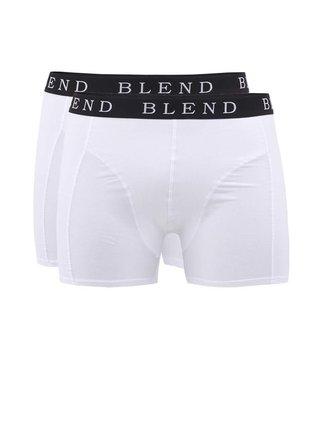 Sada dvoch bielych boxeriek Blend