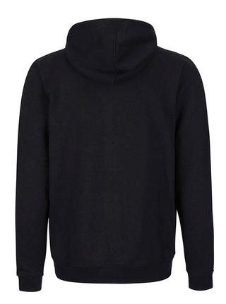 Čierna mikina na zip s kapucňou Blend