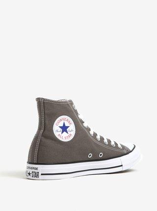 Sivé pánske členkové tenisky s logom Converse Chuck Taylor All Star