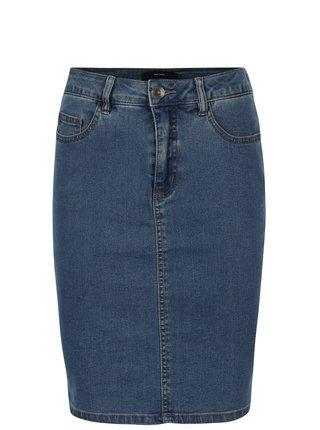 Modrá džínová sukně VERO MODA Hot