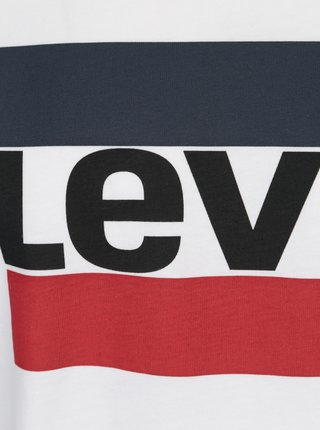 Bílé pánské tričko s potiskem Levi's®