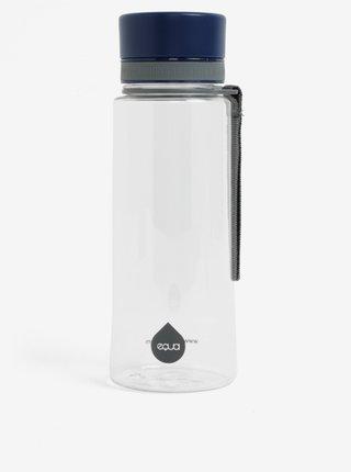 Plastová fľaša s tmavomodrým uzáverom EQUA (600 ml)
