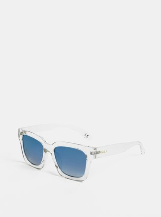 Svetlosivé transparentné slnečné okuliare Nalí