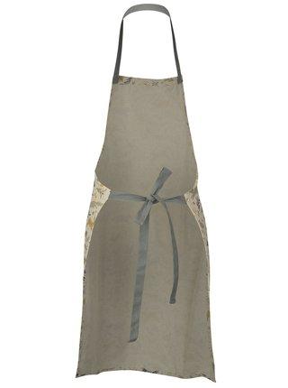 Krémová zástera s lesným motívom Cooksmart