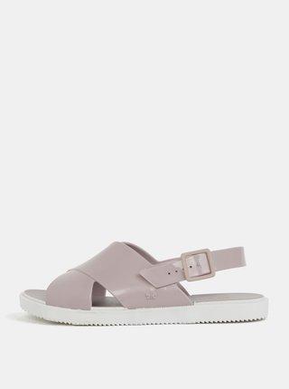Svetlofialové sandálky Zaxy Match