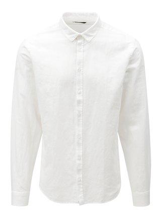 Biela regular fit košeľa Casual Friday by Blend
