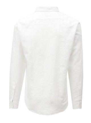 Bílá regular fit košile Casual Friday by Blend
