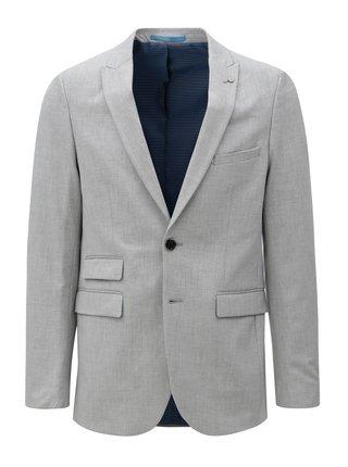 Svetlosivé oblekové sako Burton Menswear London