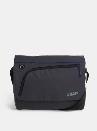 Modro-sivá pánska taška na notebook LOAP Gotsa