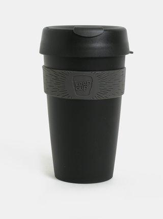 Čierny cestovný hrnček KeepCup Original Large