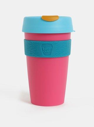 Modro-ružový cestovný hrnček KeepCup Original Large