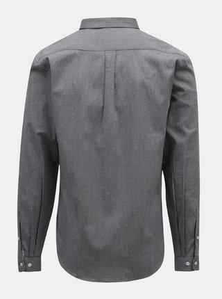 Sivá melírovaná košeľa Lindbergh
