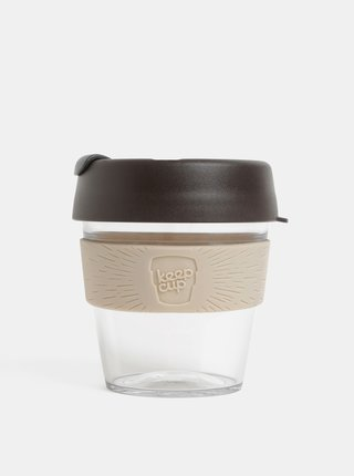 Sivo–hnedý cestovný hrnček KeepCup Original small 227 ml