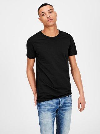 Čierne basic tričko Jack & Jones Basic