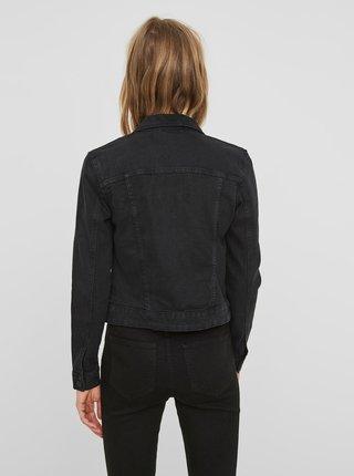 Čierna krátka rifľová bunda Noisy May Debra
