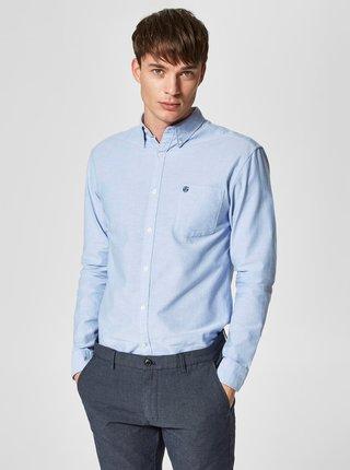 Modrá košile Selected Homme Collect