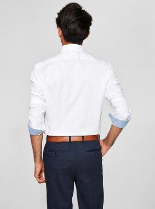 Bílá formální slim fit košile Selected Homme One New
