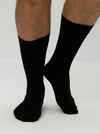 Súprava troch párov ponožiek v čiernej farbe Selected Homme Cotton