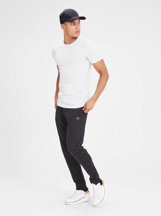 Bielo basic tričko s krátkym rukávom Jack & Jones Basic