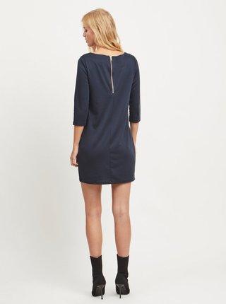 Tmavomodré šaty VILA Tinna